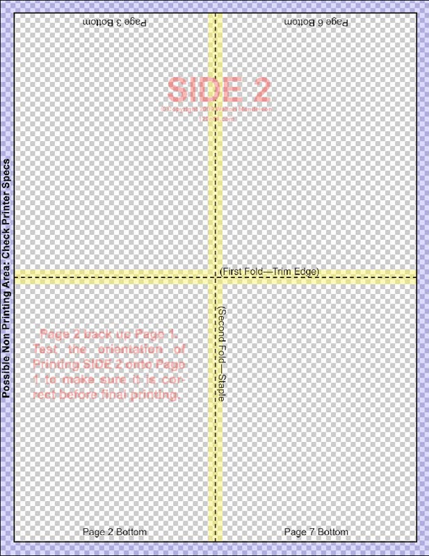 4 to a page template